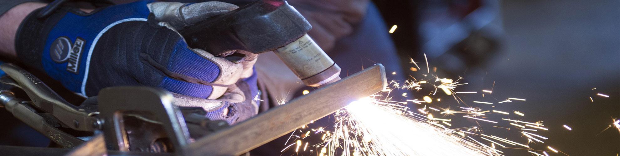 Arizona Custom welding and metal fabrication creating ornamental iron designs
